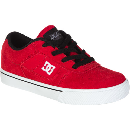 Skateboard When it comes to professional-skateboarding role models, there aren't many better than Chris Cole. He's nice, he's humble, he's entrepreneurial...oh, and he's really, really good at skating. Why wouldn't you buy your kid his pro-model DC shoes - $28.80