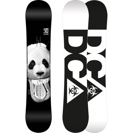Snowboard DC's PBJ Wide Snowboard is the jib stick of choice for rail rats with oversized boots. The PBJ's composite core gives it a soft, forgiving ride so you can hammer the park without any nasty surprises while Cambercore construction provides all the pop you need. - $210.00