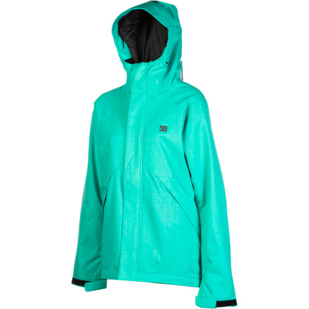 Snowboard We all love bluebird days. But good days on the hill can happen in rain, sleet, or snow when you've brought the right outerwear. The DC Women's Reflect Jacket keeps you covered with 5K moisture resistance and a sleek style so you can look good, feel good, and reflect on the fun you had instead of how wet you got. - $55.98