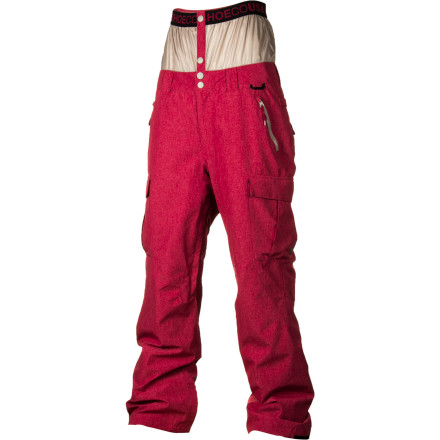 Snowboard DC Donon 13 Insulated Pants keep you warm and dry with water-resistant polyester fabric and light synthetic insulation. The baggy fit lets you layer underneath and the 13 means you can break mirrors and walk under ladders while wearing the Donon 13. - $112.00