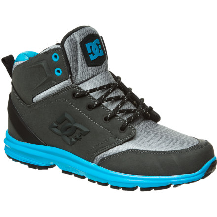 Skateboard From the mountain to the street, the DC Ranger boot has all the protection and style you can handle. The super-light design won't drag you down and the gobs of shock absorption won't wear you out, even if you're on your feet all day. - $51.00