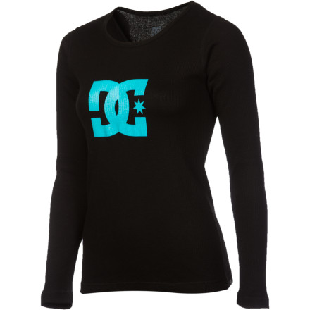 Show your love for fun on the snow even when you're not on the snow with the DC Women's Snowstar Thermal Top. - $22.50