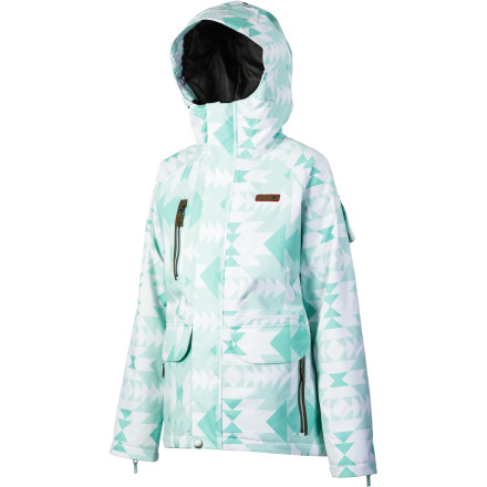Snowboard Pamper yourself with the DC Contra Women's Snowboard Jacket. You'll stay nice and toasty during winter storms with the 80g polyfill insulation, and the faux-bunny fur lining is oh-so-soft and warm so that no matter what the weather, you can enjoy the ride comfortably. - $88.00