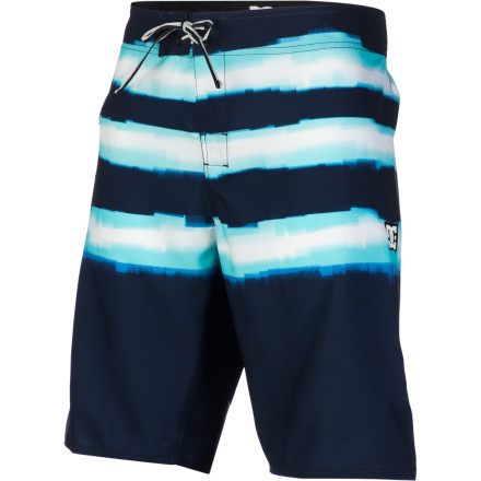 Surf Get loose while sporting a tight style with the DC Pulse Board Short. A modern, longer length and stretch material make the Pulse worthy for paddling out, while seamless side panels and the Lycra-lined front rise keep you comfortable while you're out there. - $28.50