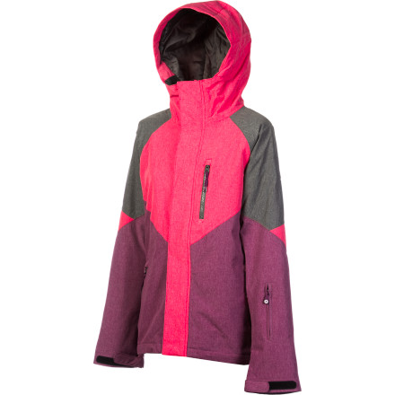Snowboard Usually, it's a decision to wear either your puffy jacket or thin shell to the hill with the debate that goes along on what to wear underneath. The DC Women's Prima Jacket makes up your mind for you with a shell fabric that's highly waterproof and breathable while 40g Thinsulate fill provides lightweight warmth you can ride in all year. Now all you have to do is decide on a color. - $100.00