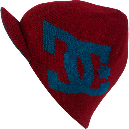 Snowboard Pop the Cascata Visor Beanie from DC on that pretty little head of yours whenever the air gets a chill. It will keep you warm and the visor will shield your eyes from bright glares like the sun on the snow or your ego in the mirror. - $21.00