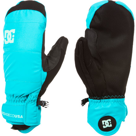 Don't sit out January again this year because of frozen hands. The DC Women's Lear 13 Mitten gives you back an entire month of riding that the cold has traditionally taken away with 10k waterproofing, synthetic insulation, and internal finger channels that pull moisture away from your skin to keep you dry and warm. - $28.00