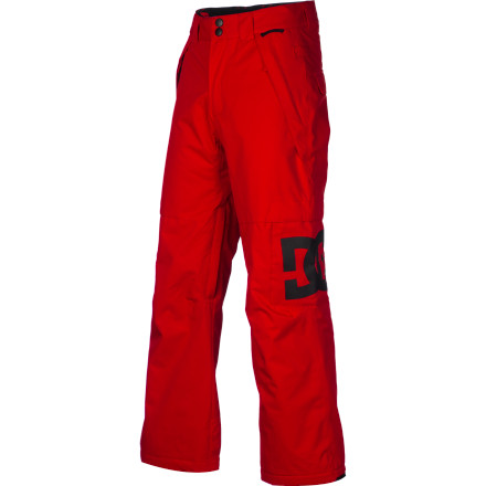 Snowboard Be ready to brave any conditions with the DC Boys' Banshee 13 Snowboard Pant. With 5K-rated waterproof fabric and 80g synthetic insulation, the Banshee screams all-day warmth no matter what the weather. - $55.00