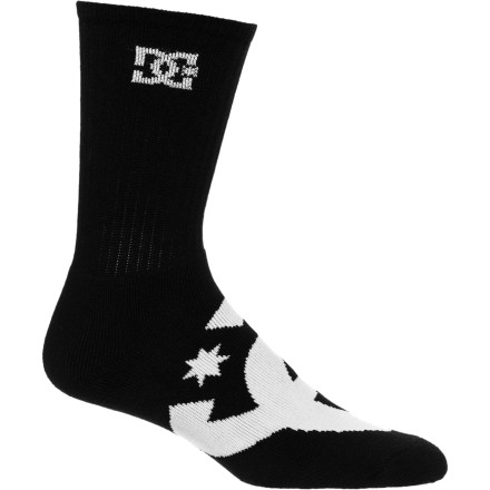 Skateboard Wicked things come in threes: your blunt triple kickflip, punk rock power chords, and the DC Willis Crew Socks 3 Pack. - $18.70