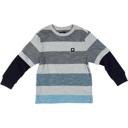 Motorsports DC Rapport 2Fer Shirt - Long-Sleeve - Little Boys' - $9.10