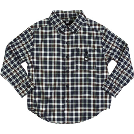 Motorsports DC Rogie Shirt - Long-Sleeve - Little Boys' - $9.00