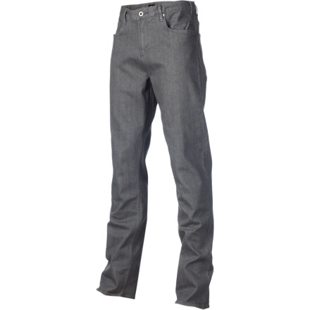 Fitness Surprise the boss man by wearing the DC Men's Relaxed-Fit Denim Pant to work. No holes, no stains, and this pant doesn't sag to your thighs like those 'other' jeans you own; he'll be so impressed that he'll give you a raise on the spot. Bask in the slightly stretchy fabric, relaxed and easy-going style, and classy fabric finish later...it's time to swim in some MONEY! - $59.50
