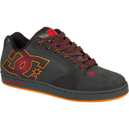 Skateboard Whether you're skating or just hanging out, keep it stylish with the DC Raif Women's Skate Shoe. It features cupsole construction for a cushy feel and a rubber sole with DC's pill pattern tread for traction on and off your board. - $39.00