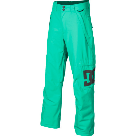 Snowboard For a long day of riding, make sure you wear the DC Maci Girls' Snowboard Pant to stay dry and cozy. With 80g synthetic insulation to keep you warm without being too puffy, the Maci will keep you feeling comfy all day so you can enjoy the ride. - $50.00