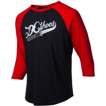 DC Cutters Raglan Shirt - 3/4-Sleeve - Men's - $18.00