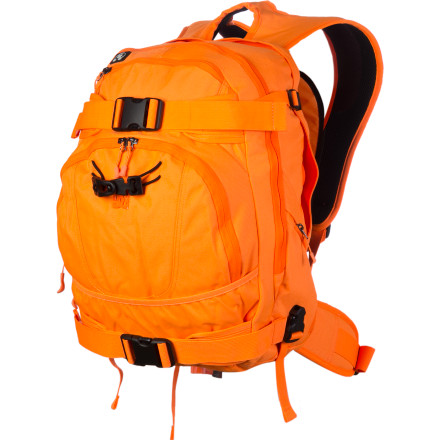 Camp and Hike Throw your books into your DC Asteria Backpack, but don't go to school. Head to your buddy's house, and swap out your books for your shred gear and head for the hill. This versatile pack keeps you organized and ready for anything, from school to real life. - $47.97