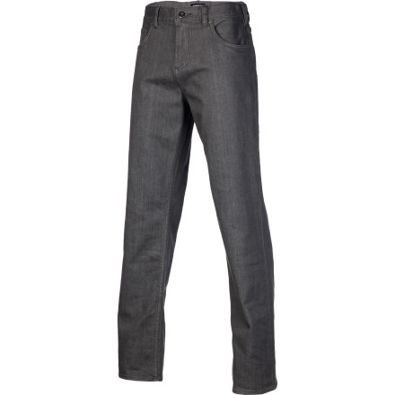 Skateboard Keep it loose and fresh like Rob Dyrdek in the DC RD USA Men's Denim Pant. It has a baggier fit...none of that girls' pants business, with a little bit of spandex woven in for stretch while you're skating. - $49.40
