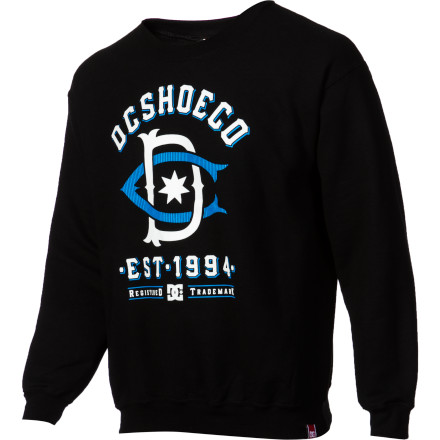 DC Rob Dyrdek Teamworks Throwback 2 Crew Sweatshirt - Men's - $36.40