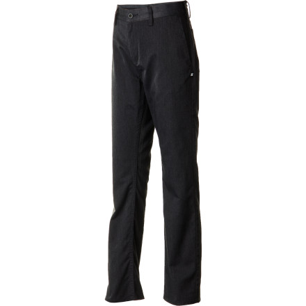 Motorsports Finally, a piece of clothing that you and he can both agree on. With a slim fit and classic styling, you'll both be stoked about his wearing the DC Worker Slim Boys' Pant to school. - $31.50