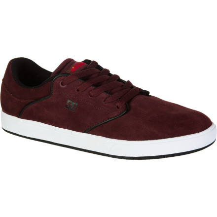 Skateboard The DC Mikey Taylor Skate Shoe combines the consistent feel of a low-pro upper with a classic cupsole construction for comfort and shock absorption. - $52.00