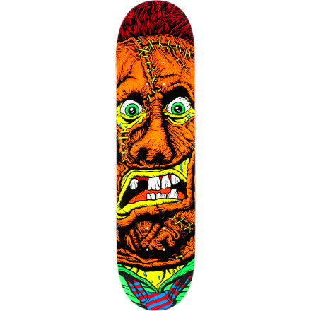 Skateboard When things go bump in the night, it's usually just your cat knocking over some stuff. But sometimes it's an axe murderer, too. In case of the latter, grab the Deathwish Horror Skate Deck get pushing down the street as fast as you can. - $44.96