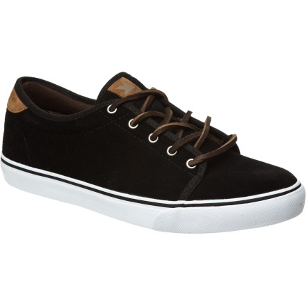 Skateboard Developed in partnership with street icon Chad Tim Tim, the Dekline Santa Fe Skate Shoe features a super-slim profile and classic vulc construction for low-key style and tons of board feel. - $31.98