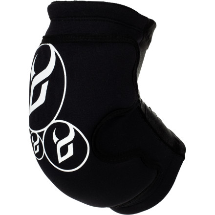 Snowboard The lightweight, dual density Demon Snow Soft Cap Pro Elbow Guard is the most protection that you can get without hard shell pads. The Soft Cap also doesn't have any hook-and-loop straps or fasteners to keep the weight down and the comfort cranked all the way up. - $22.46