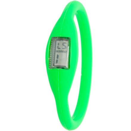 Entertainment Is the Deuce Fluorescent Watch a fashion accessory No, or it would be called the Deuce Fluorescent Fashion Accessory. It tells time, from within a stretchy rubber bracelet that barely feels like you're wearing it. And it looks so good that you may want to wear more than one. Fortunately, for the price, you can. - $8.98