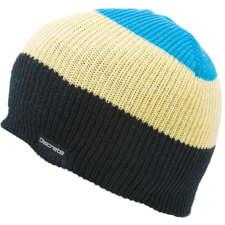 Stash the Discrete Lexic Beanie into your backpack and you're all set for crashing in the airport during your layover. Its cozy knit fabric cradles you to sleep, so you're ready to go as soon as you reach your final destination. - $7.98