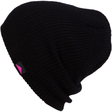 The Discrete Sigma Beanie has nothing to hide. No, it wasn't involved in some bank or convenience store holdup. The only thing it was doing at the time of such incidences was keeping your dome warm, while snow fell quietly all around you. - $12.97