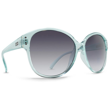 Entertainment The Dot Dash Women's Tilt Sunglasses are the perfect match for summer-from in-town escapades to coast-bound road trips. Retro-inspired with a splash of modern style, the semi cat-eyed Tilt features a lightweight and transparent frame with impact-resistant 6-base PC lenses and durable metal hinges. - $20.21