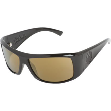 Entertainment Throw the Dragon Claca Sunglasses on your face after a long night in the club. The durable grilamid frame fits large to fully cover your blood-shot peepers, and the polycarbonate lenses block out the paralyzing light of day while you take the long walk home. - $89.95