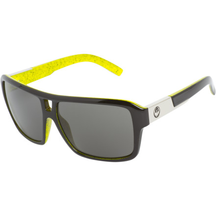 Entertainment Get your booty on the floor tonight with the Dragon Jam Sunglasses. The vintage b-boy style helps you get it going on the dance floor, while 100%-UV-blocking polycarbonate lenses are sure to make your day. - $99.95