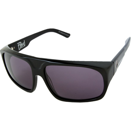 Entertainment You love to enjoy the sights and sounds of the boulevard on foot. You never know whether you're going to see movies stars, hookers, or movie stars with hookers. The minimalist Dragon BLVD Sunglasses hide your gaze, so feel free to stare all you want. - $89.95