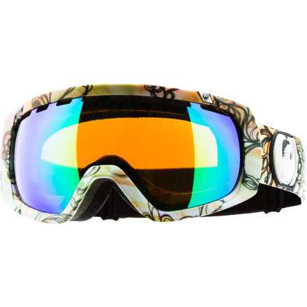 Ski When Danny Davis and TJ Schiller spot their landings after three or four rotations over a huge table top, the Dragon Rogue Goggle ensures they see it and stick it. The optically correct lens gives your eyes the ability to see downhill so you can know whats ahead when youre spotting a landing in the park or mapping out a series of turns through a rock-studded chute. - $65.97