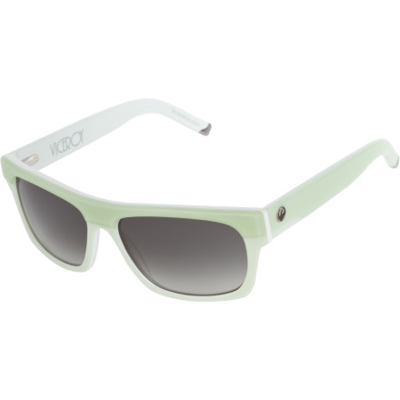 Entertainment The Dragon Viceroy Sunglasses offer a modern, squared-off take on a classic throwback style. - $109.95