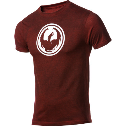 The Dragon Icon Slim T-Shirt offers a flattering fit that will have people complementing your fiery physique rather than criticizing your scales and tendency to burn everything you burp at - $15.96