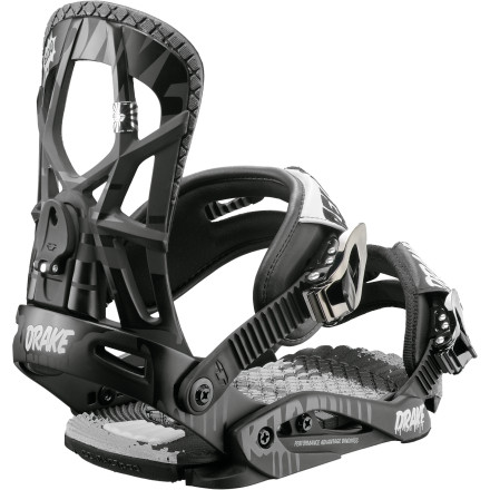 Snowboard There's nothing that other high quality bindings have that the Drake Reload Snowboard Binding doesn't haveexcept all that excess weight. Drake strategically reduced the amount of materials in the components of the Reload to make it super-light without compromising support, response, or comfort. - $107.97