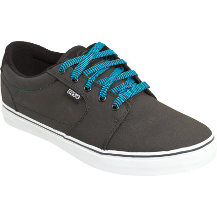 Skateboard Send a shout-out to your father with the DVS Men's Convict Skate Shoe. He'll be psyched to know that you're keeping the family business running strong while he's standing next to the highway with his 'buddies' swinging the manual weed-wacker. - $44.07