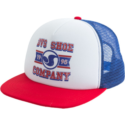 Bad hair day No hair day May we suggest the DVS LLobby Trucker Hat Guess we just did. - $10.98