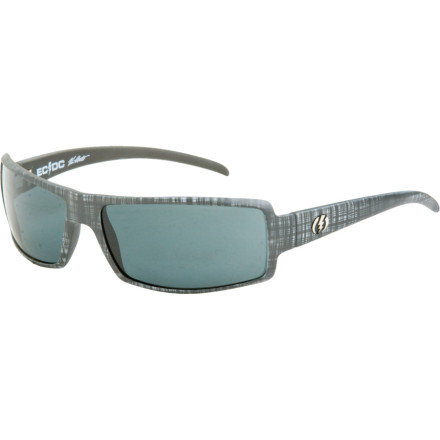 Entertainment The 80s inspired square wrap of the Electric EC/DC Sunglasses give you that edgy, too-cool-for school that will make you want to wreck your best friends dads car, crash a parade, and maybe let your high school principal attacked by a dog. - $62.97