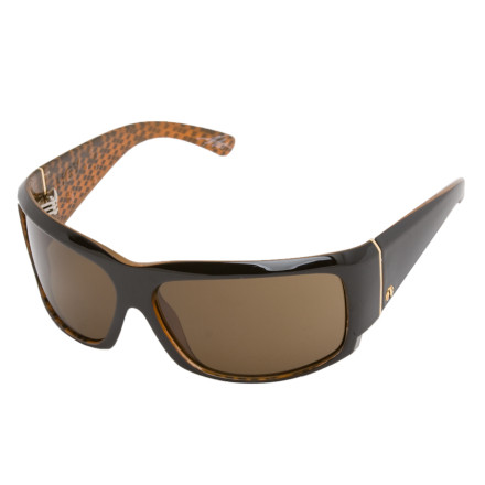 Entertainment Slip on the Electric Hoy Sunglasses for a sunny So-Cal park session or a day on the mountain. The signature specs of Matt Hoy, these large wrap-around sunglasses enhance clarity and block out UV rays. Electric gave the Hoy a durable 8-Base Grilamid frame so it can stand up to the beating you're about to put on the rails. - $119.95