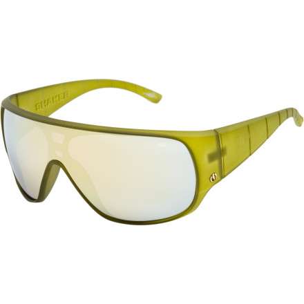 Entertainment Throw on the Shaker Sunglasses when you want big-baller style and plenty o' protection from UV rays. Grilamid frames are strong yet flexible in pretty much any temperature, and the polycarbonate lenses can stand up to rough treatment too. - $76.97