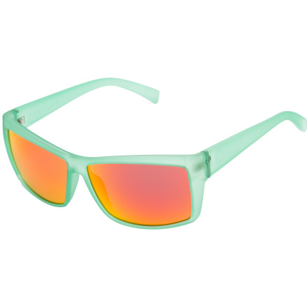 Entertainment The Electric Riff Raff Sunglasses cross the barrier between genders, so if you convince your lady friend to get a pair of these sunglasses, then you can borrow them without your buddies making fun of you. - $76.97