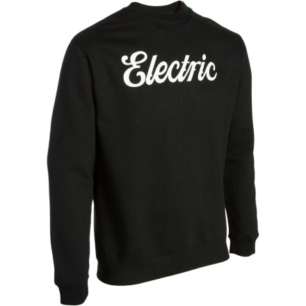 When you don't need the hood but you still need a charge of warmth, don the Electric Men's Cursive Pullover Sweatshirt. - $30.84