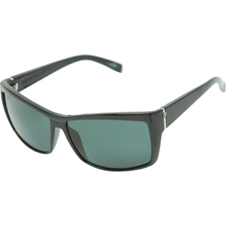 Entertainment The Electric Riff Raff Sunglasses have a unique frame shape for superior style points when you're sitting out by the water. Polarized lenses reduce glare, allowing you to see what color the umbrella is in your next cocktail from across the beach. - $149.95