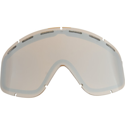 Ski Replace the scratched lens on your EGB goggles with the Electric EGB Lens. And next time when the bar runs out of mugs to pour the beer in, think twice before using your goggles. - $9.57