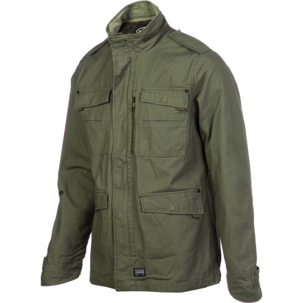 The Electric M-41 Jacket operates with tactical flavor and just enough taste to make 'em wonder where you're from and where you're going. - $76.97