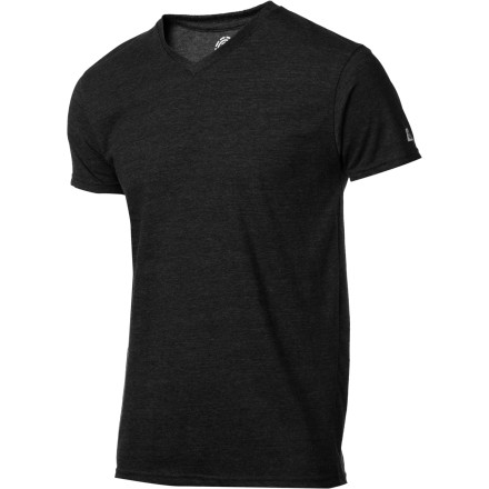 Skateboard Without V-neck threads like the Element Men's Woodridge T-Shirt, you'd actually have to take off your shirt to extend your neck tan. Besides, there's nothing quite as comfortable as the smooth feel of cotton coupled with the slightly stretchy construction of polyester. - $14.27