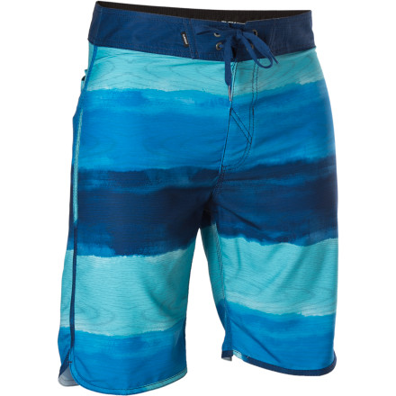 Surf Surfing in the buff isn't nearly as fun as it sounds, because then you wouldn't get to wear the recycled Element Au Naturale Eco Flex Board Short, help out the Earth's plastic-riddled oceans, and avoid cheek-to-coral injuries  or worse. - $26.75